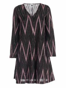 M Missoni Dress L/s Jersey Lurex