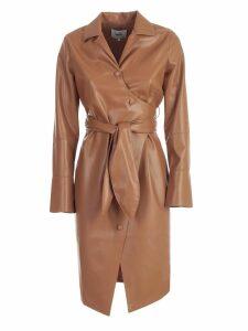 Nanushka Dress L/s Vegan Leather