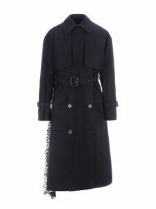 Msgm Sequin Trench Coat