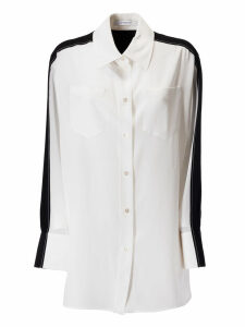 Givenchy Buttoned Silk Shirt
