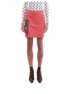Marine Serre Pink Skirt
