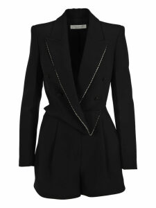 Philosophy Draped Blazer Playsuit