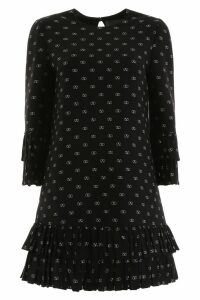 Valentino Mini Dress With V Logo All-over