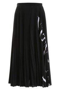 Valentino Pleated Vltn Skirt