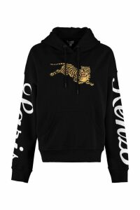 Kenzo Jumping Tiger Embroidery Cotton Hoodie