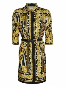 Versace Belted Dress