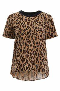 Sacai Animalier T-shirt