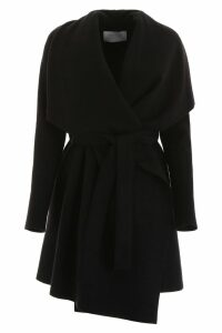 Harris Wharf London Belted Midi Coat