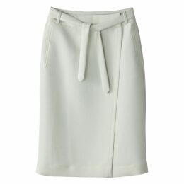 Midi Wrapover Skirt