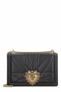 Dolce & Gabbana Quilted Devotion Leather Bag