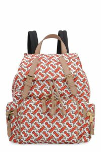 Burberry The Rucksack Printed Nylon Backpack