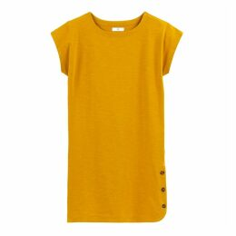 Short Tunic Dress in Cotton Mix
