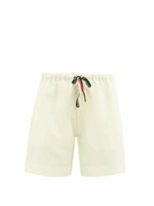 Thierry Colson - Marieke Floral Silk Brocade Dress - Womens - Gold