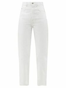 D'ascoli - Old Rose Floral Print Cotton Dress - Womens - Multi