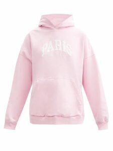 D'ascoli - Meadow Floral Print Cotton Maxi Dress - Womens - Pink