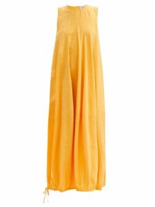 Albus Lumen - Safi Striped Single Breasted Blazer - Womens - Nude