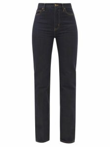 Beulah - Alisha Floral Print Silk Wrap Dress - Womens - Pink Multi