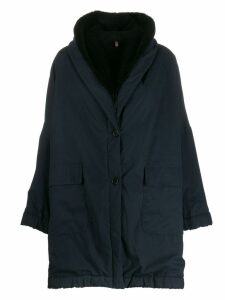 Romeo Gigli Pre-Owned '1990s oversized coat - Blue