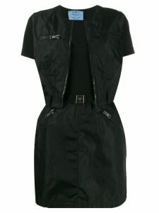 PRADA PRE-OWNED '1990s dress and jacket suit - Black