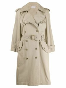 Yves Saint Laurent Pre-Owned '1990s trench coat - Neutrals