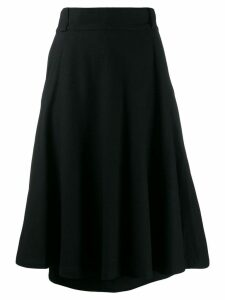 Versace Pre-Owned 1970's flared skirt - Black