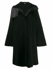 Jean Paul Gaultier Pre-Owned 1990's asymmetric collar A-line coat -