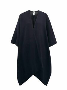 The Row - Hern Cashmere Cape - Womens - Navy