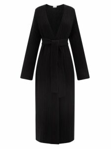 Raey - Empire Waist Hippy Floral Print Cotton Maxi Dress - Womens - Yellow Print