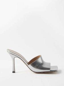 Missoni - Tie Neck Metallic Top - Womens - Navy
