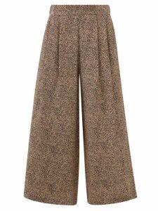 Lemaire - Oversized Crew Neck Cotton Blend Top - Womens - Black