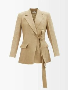 Rochas - Pesaro Patch Pocket Radzmir Coat - Womens - Black
