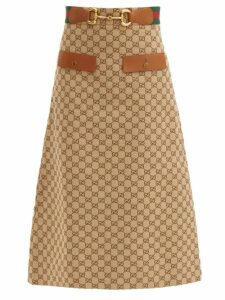 Sir - Amelie Ruffled Broderie-anglaise Cotton Midi Skirt - Womens - Black