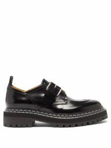 Jil Sander - Drawstring Collar Poplin Shirtdress - Womens - Camel