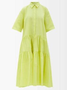 Dolce & Gabbana - Lace Trimmed Lily Print Skirt - Womens - Pink Multi