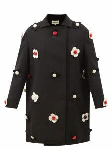 Moncler - Authie Quilted-down Coat - Womens - Black