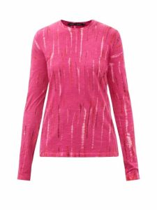 Sea - Piper Zipped Denim Midi Skirt - Womens - Denim