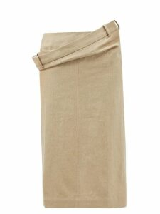 Gucci - Horsebit Jacquard Cotton Blend Jacket - Womens - Red Multi