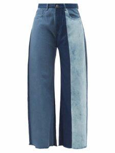 Lemaire - Roll Neck Cotton Blend Top - Womens - Light Green
