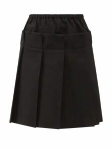 Harris Wharf London - Double Breasted Pressed Wool Coat - Womens - Navy