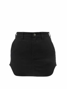 Alexander Mcqueen - Houndstooth Jacquard Pussy Bow Knitted Dress - Womens - Black White