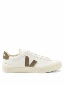 Borgo De Nor - Teodora Gathered Cotton Blend Poplin Dress - Womens - Blue
