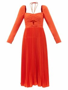 The Attico - Dolman Sequinned Long Sleeve Mini Dress - Womens - Multi