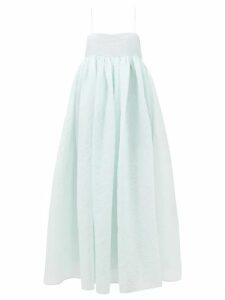 Raey - Empire Waist Hippy Floral Print Cotton Cami Top - Womens - Yellow Print