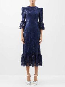 K.jacques - Dottie Leather Sandals - Womens - Black