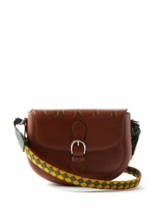 The Row - Margaux 15 Medium Leather Tote Bag - Womens - Grey