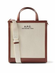 The Row - Margaux 17 Large Canvas Tote Bag - Womens - Beige Multi