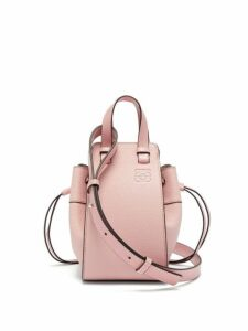 Loewe - Hammock Mini Grained Leather Cross Body Bag - Womens - Pink
