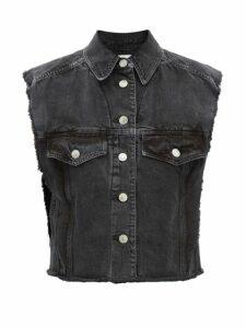 Loewe - Gate Mini Leather Cross Body Bag - Womens - Pink