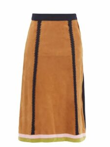 The Row - Margaux 15 Large Canvas And Leather Tote Bag - Womens - Beige Multi
