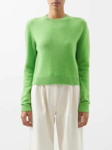 Prada - Cahier Leather Cross Body Bag - Womens - White Black